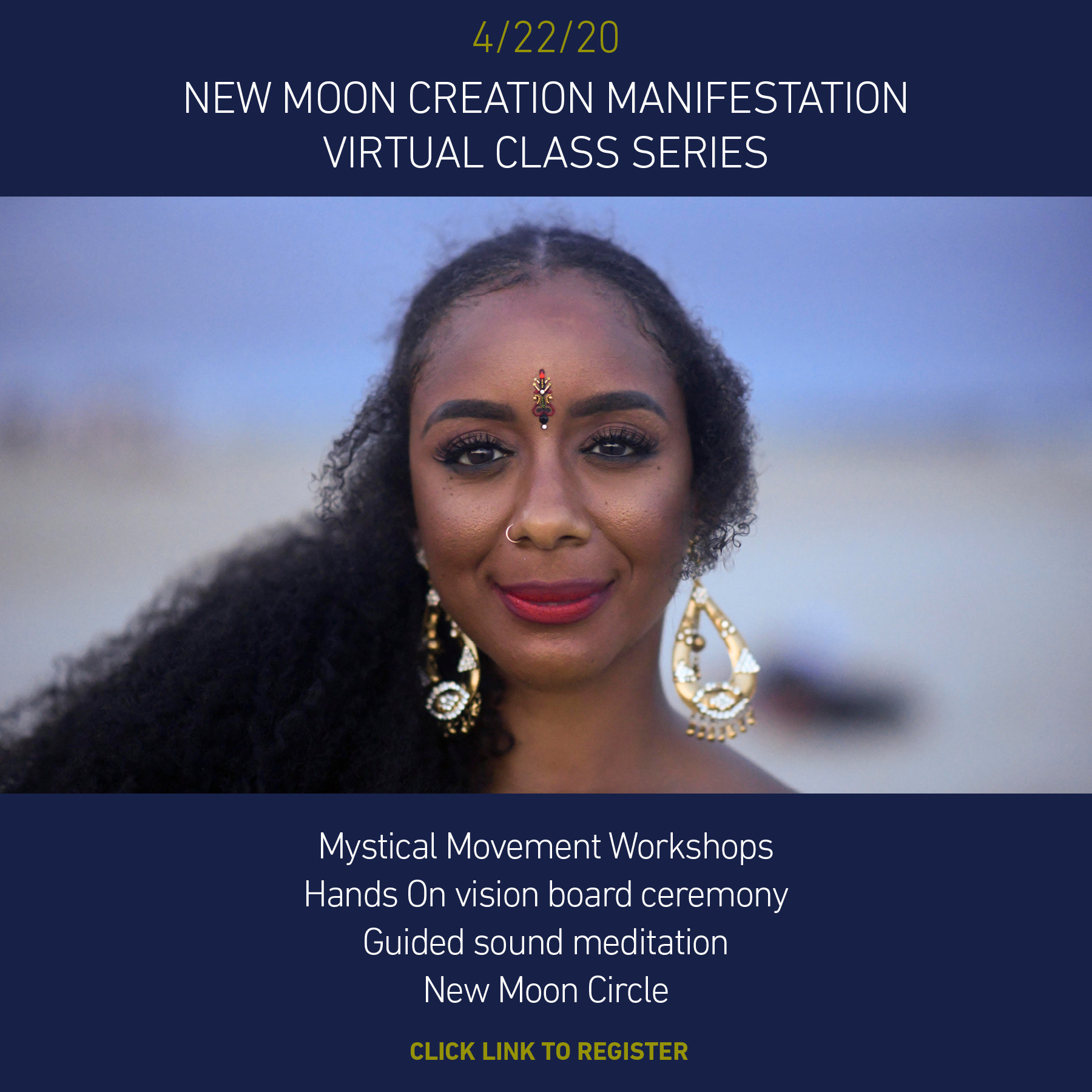 Creation Manifestation New Moon Experience 4/22/2020